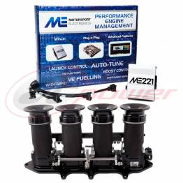 Ford ST170 Electronic Fuel Injection (EFI) Throttle Bodies (ITB's) &  ME221 Base Map ECU Package