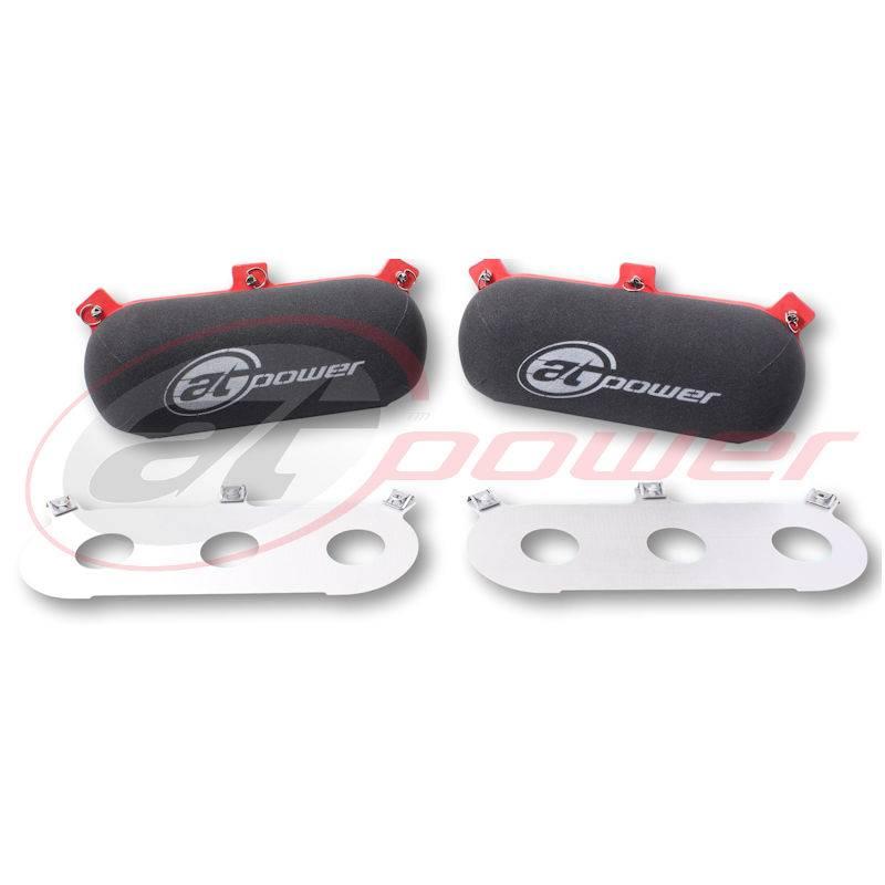 Porsche Megaflow Air Filters & Pre-Cut Backplates JC40/S/65