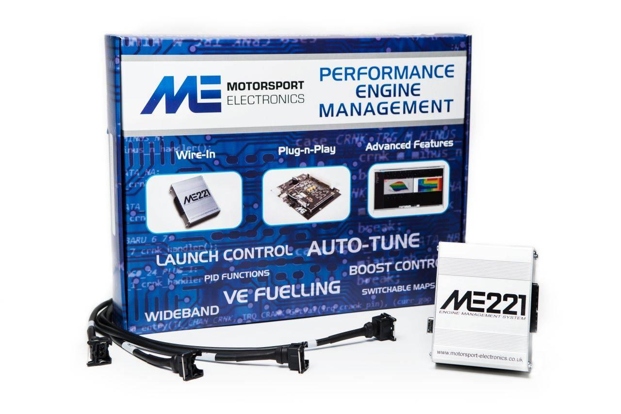 ME221 Universal 4 Cylinder ECU + Vauxhall C20XE WithLoom