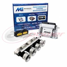 Ford Duratec 2.0L Electronic Fuel Injection (EFI) Throttle Bodies (ITB's) &  ME442 Base Map ECU Package