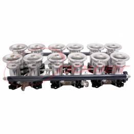 IDA 12-Cylinder Electronic Fuel Injection (EFI) Throttle Bodies (ITB's)