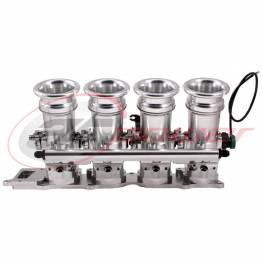 Honda K20/K24 DC5 55mm Electronic Fuel Injection (EFI) Throttle Bodies  (ITB's) (For Ported Cylinder Heads)