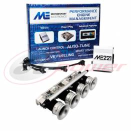 Ford Duratec 2.0L Electronic Fuel Injection (EFI) Throttle Bodies (ITB's) &  ME221 Base Map ECU Package