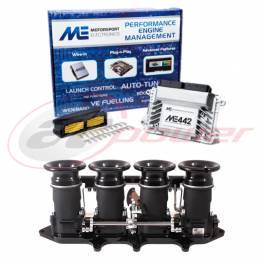Ford Zetec Silvertop/Blacktop Electronic Fuel Injection (EFI) Throttle Bodies (ITB's) & ME442 ECU Base Map Package