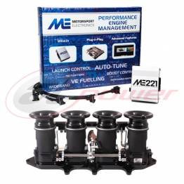 Ford Zetec Silvertop/Blacktop Electronic Fuel Injection (EFI) Throttle Bodies (ITB's) & ME221 ECU Base Map Package
